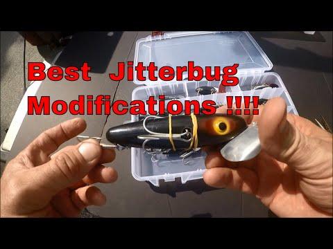 Best Jitterbug Lure Modifications