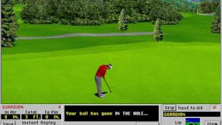 Links: Championship Course - Bountiful Golf Course (Access Software) (MS-DOS) [1991]