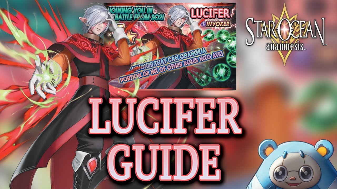 33 30 MB] Download Lagu Character Guide How To Use Lucifer