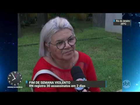 Rio Grande do Norte registra 30 assassinatos em dois dias - SBT Brasil (10/04/17)