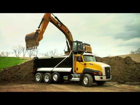 Cat® 349E Excavator At Work