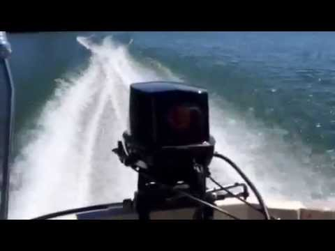 Boston Whaler 13 with Johnson 35 hp 2-stroke 32MPH