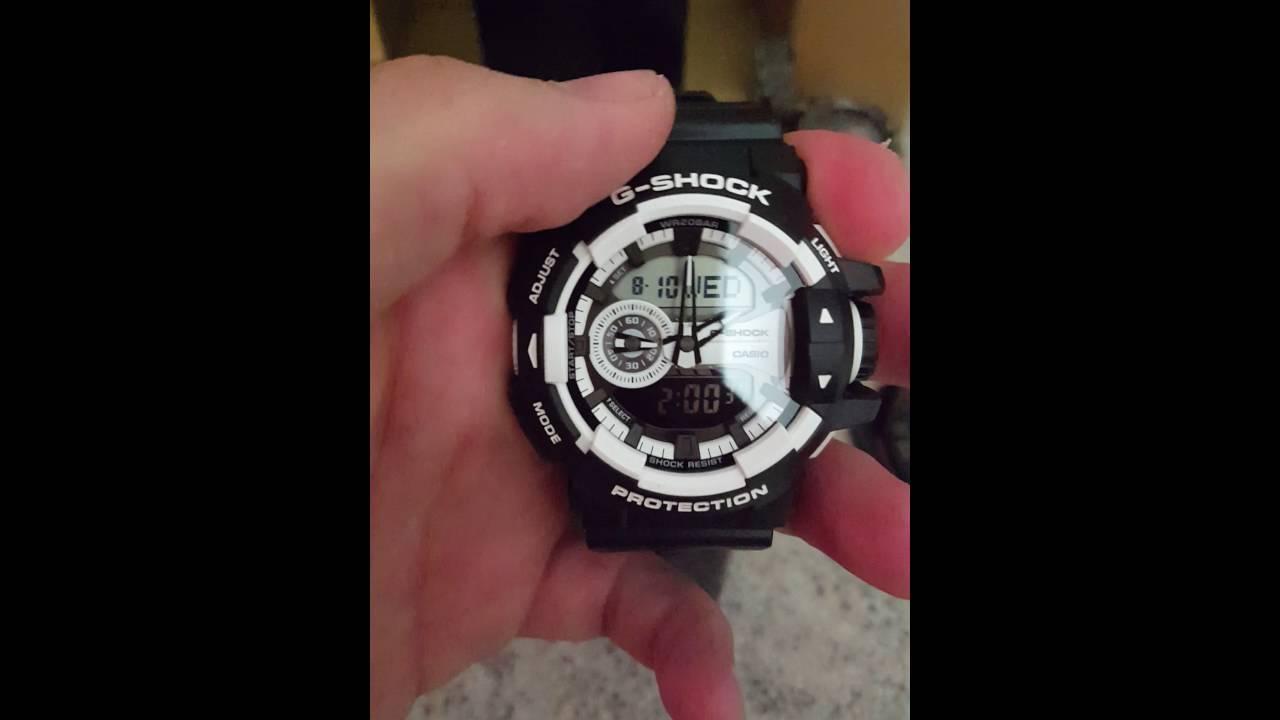 5d4bf9e779ea Casio G-Shock GA-400-1AER - YouTube
