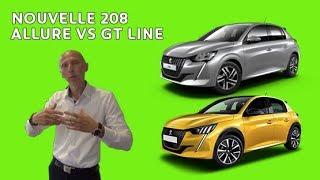 Comparatif de gamme nouvelle 208 : montée en gamme Allure VS GT Line : les Tutos de Berbiguier