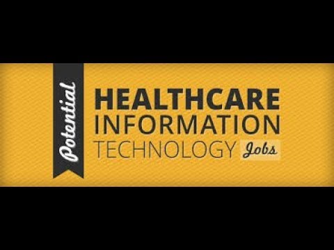 healthcare information technology jobs