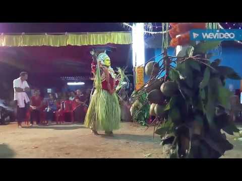 Tulunada kola with melody music of kola