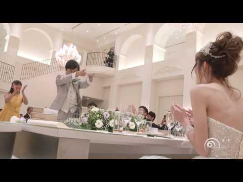 フラッシュモブ サプライズ ご両家の母親同士が抱き合うシーンが印象的!会場内が感動の渦へ!  Flashmob Surprise Weddig 渡梓 ' Wedding Day '