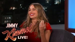 Sofia Vergara Wants Women to Stop Flirting with Her Fiancé | Jimmy Kimmel Live