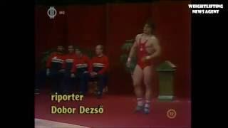 Szanyi Andor | European Weightlifting Championships | 1985 | 100kg