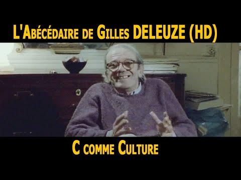 L Abecedaire De Gilles Deleuze C Comme Culture Hd Youtube