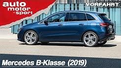 Die neue Mercedes B-Klasse (2019): Goodbye Rentner-Image? - Fahrbericht/Review | auto motor & sport