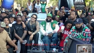 Rick Ross - Box Chevy Video - Behind the Scenes iboTV Exclusive VIDEO