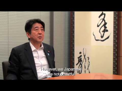 SHINZO ABE: J-COLLABO Interview