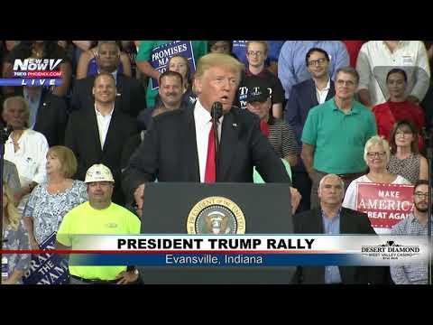 FULL MAGA RALLY: President Trump In Evansville, Indiana (FNN)