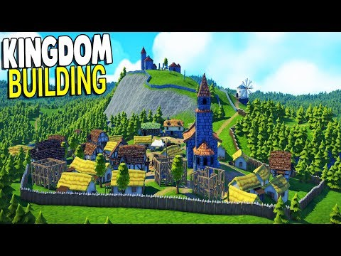 NEW: BEST CUSTOM CASTLE & CITY BUILDING GAME YET | Foundation Gameplay (PC)