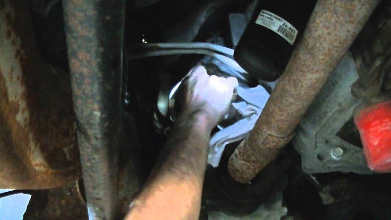 Duramax Engine Oil Change  YouTube