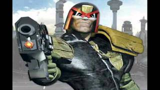 Judge Dredd Comics Tribute - I Am The Law