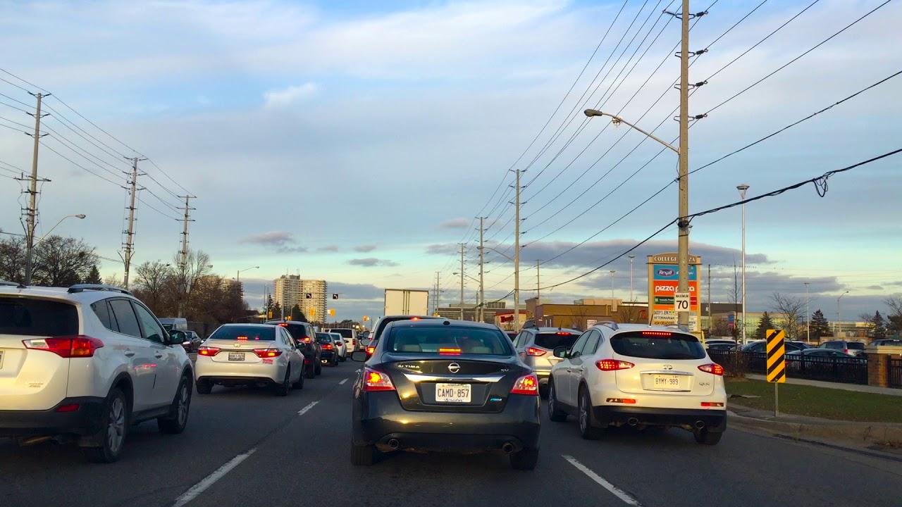 Round Trip to Drive Test Office in Brampton during Peak Traffic ...