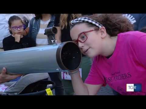 tgr Lazio 28 settembre - Giovani a Frascati per la grande festa della scienza