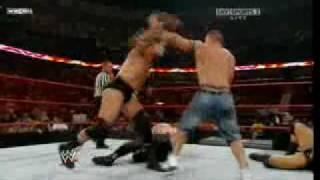 Batista vs JBL vs Kane vs John Cena 2-2 7-7-08