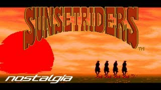 Nostalgia: SNES - Sunset Riders