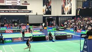 2019 US Open MS QF (3rd Set Only) - Tanongsak Saensomboonsuk vs Sun Fei Xiang [NICE ANGLE]