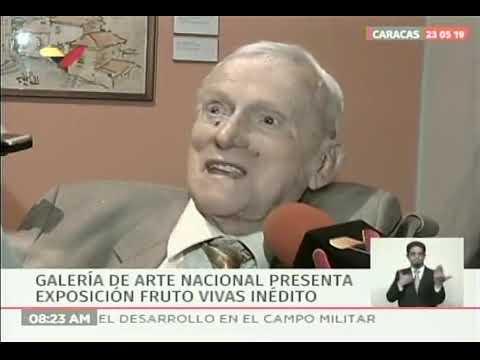 """""""Fruto Vivas Inédito"""": Galería de Arte Nacional expone 30 retratos"""