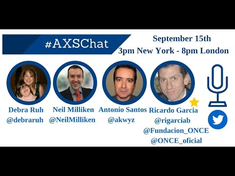 AXSchat with Ricardo García, Global Business Development Manager at ILUNION ASP
