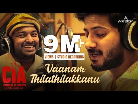 Vaanam Thilathilakkanu | Studio Recording | CIA | Gopi Sundar | Dulquer Salmaan