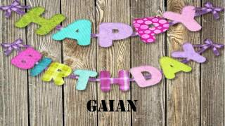 Gaian   Birthday Wishes