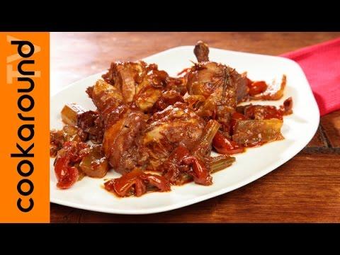 Pollo alla cacciatora / Tutorial ricetta piccante