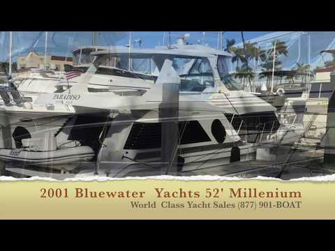2001 52' Bluewater Yachts - Fort Lauderdale