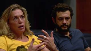 Vinicio Marchioni e Milena Mancini - reading A Calais di E.Carrère - Carbonia Film Festival 2016