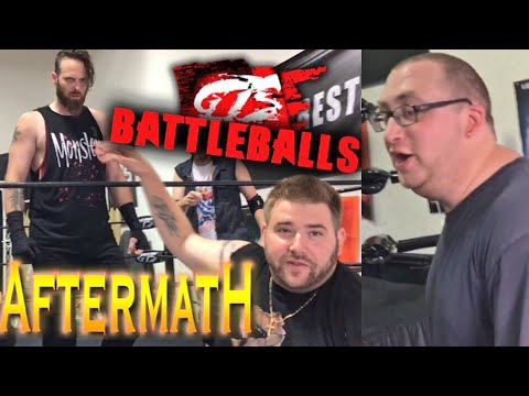 CREEPY FAN FINDS WAREHOUSE! 7ft MONSTER DESTROYS GTS WRESTLING ROSTER!