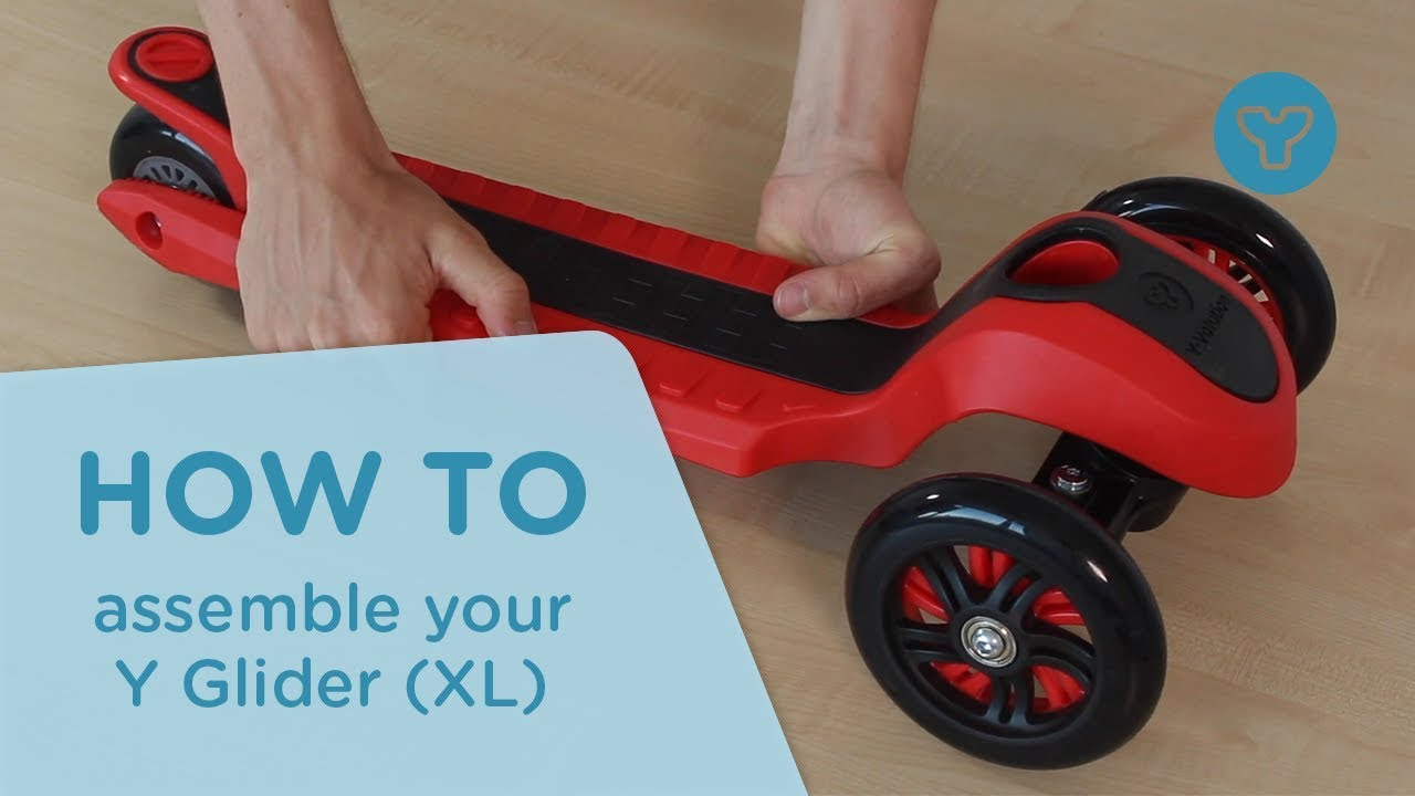 How To Assemble Your Y Glider Xl From Yvolution