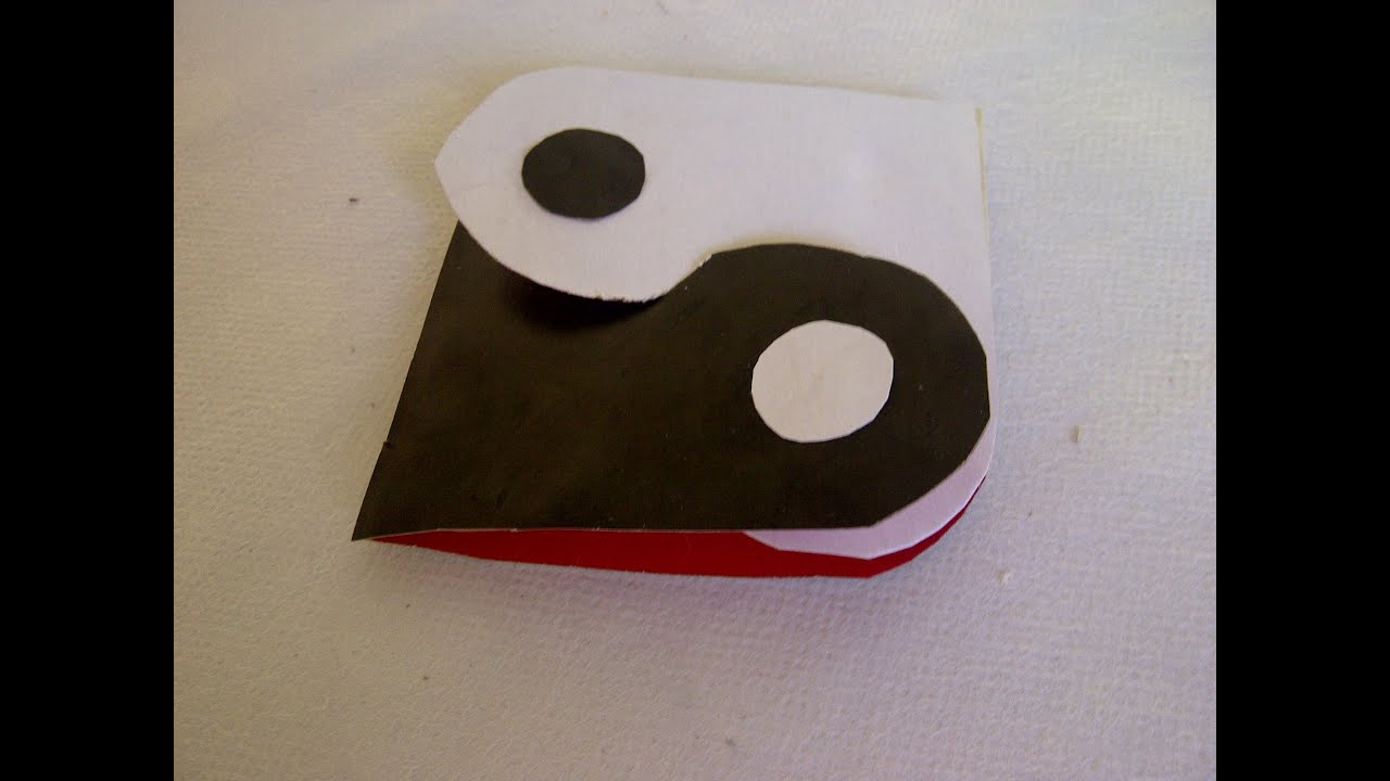 Zwei Herzen. Yin und Yang. Ein traditionelles chinesisches Symbol ...