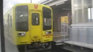 2019 01 車窓・土佐くろしお鉄道 9640形 よしかわ~のいち
