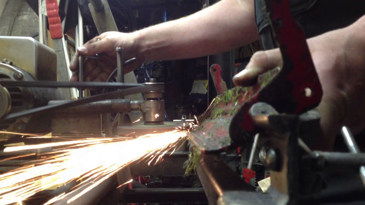 How To Sharpen A Mclane Reel Mower 2 3 Bedknife Grinding