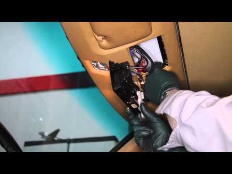 Automatic Dimming And Compass Rear View Mirror For Your Older Benz Part 1