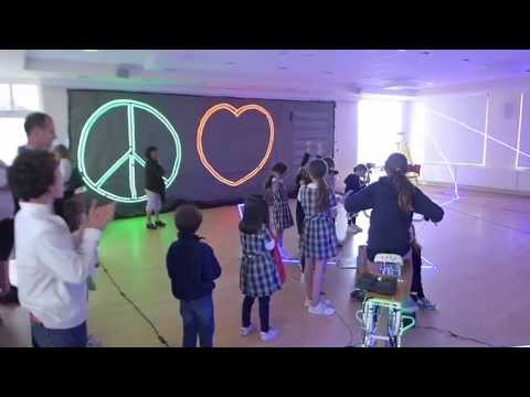 Sledgehammer Pedal Powered Light Activity From Rock The Bike Youtube