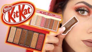 NICHT erwartet 😱 KitKat Make up Produkte im LIVE TEST! luisacrashion