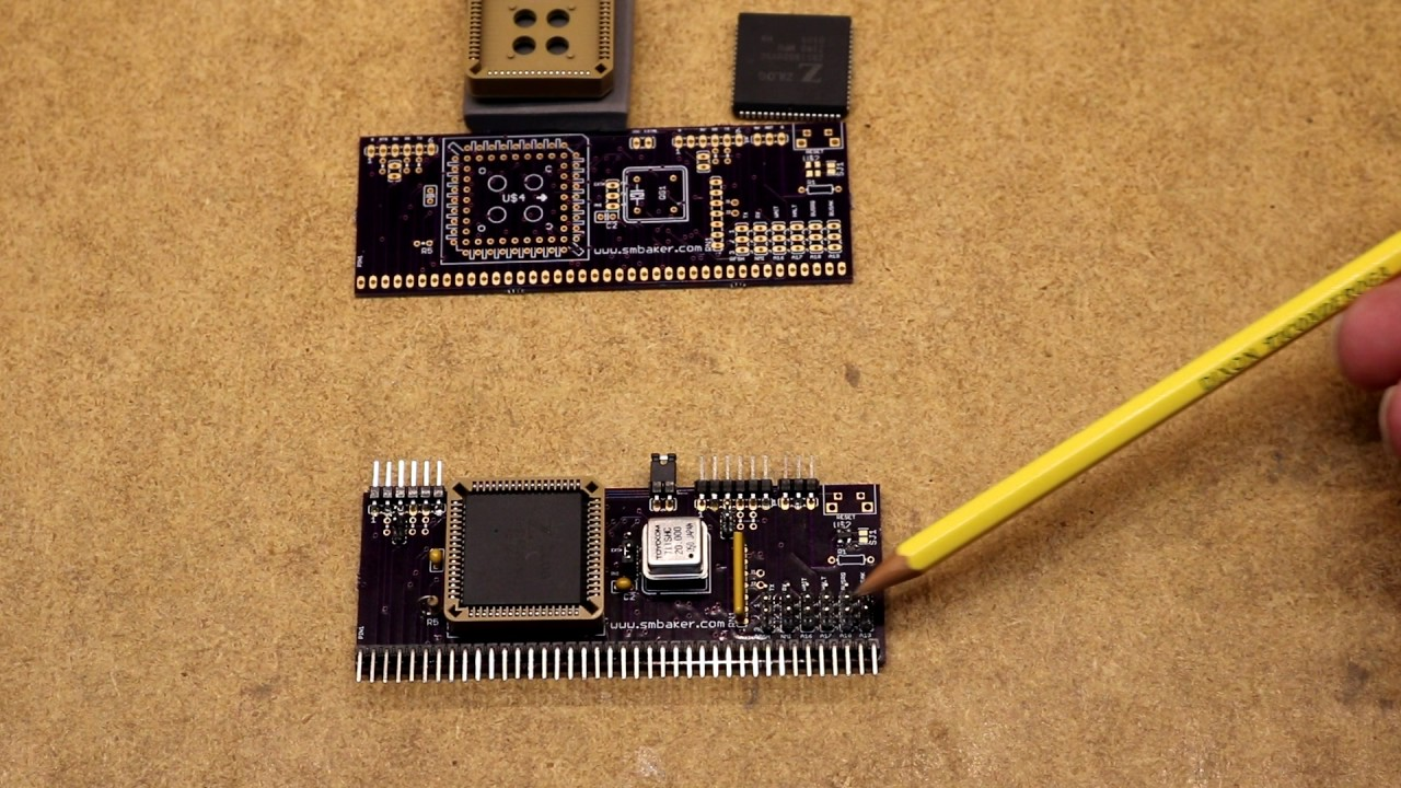 Z80 Retrocomputing 18 – Z180 CPU Board for RC2014 - Dr