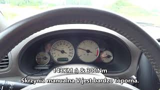 2003 Chrysler Grand Voyager 2.5 CRD 0-100 km/h Acceleration TEST