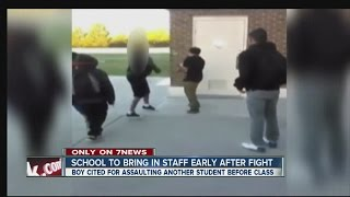 After fight video posted, school changes policy