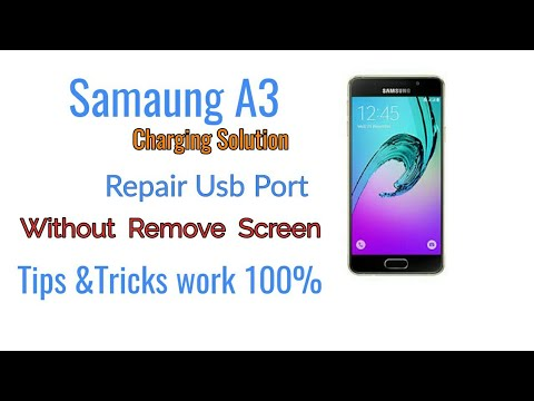 Samsung A310F Charging Port how to Replacement Without Remove LCD Screen By (NG)