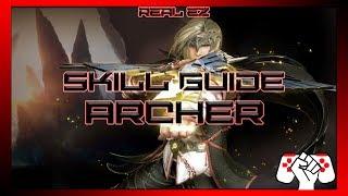 Black Desert Online /// Archer Skills and Combo Guide