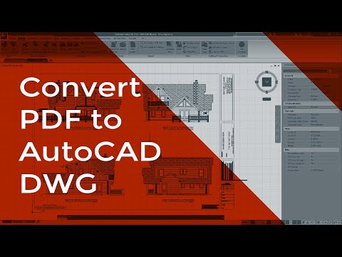 How to Convert a PDF to an AutoCAD DWG
