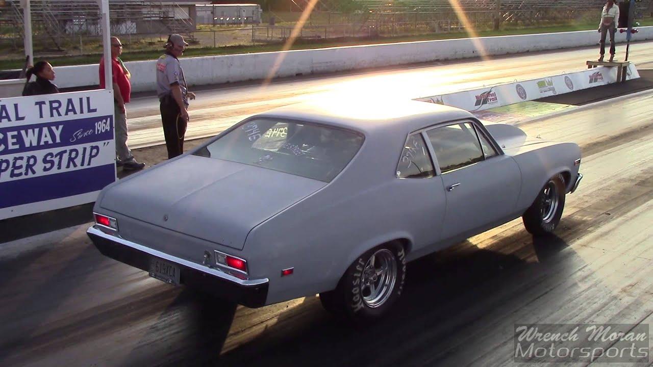 1972 Nova Drag Racing Ntr 2014 Youtube