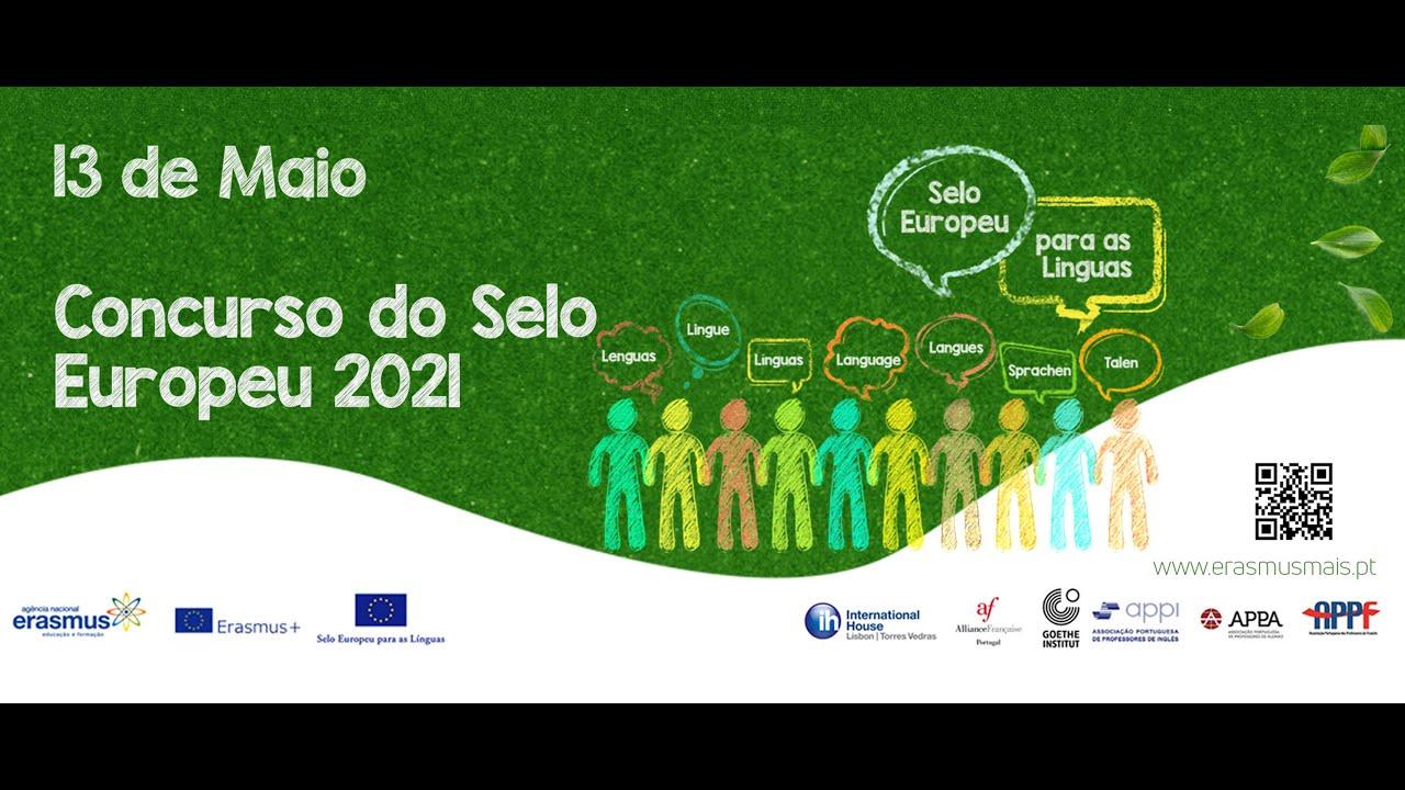 Lançamento do Concurso do Selo Europeu para as Línguas 2021