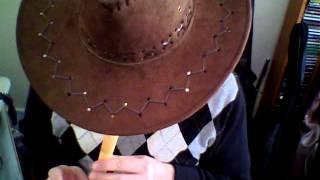 The streets of Laredo with soprano recorder
